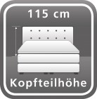Standardhöhe ca. 115 cm