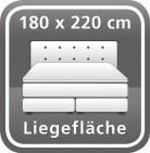 180 x 220 cm