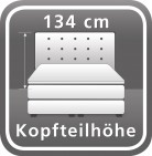Höhe ca. 134 cm