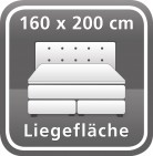 160 x 200 cm